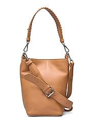 Grainy Dahlia Bag - BROWN SUGAR