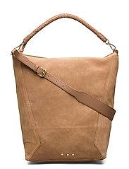 Suede Everly Bag - BROWNIE