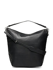 Veg Studded Linea Bag - BLACK