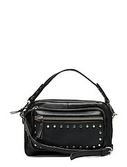 Veg Studded Molly Bag - BLACK