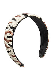 Zobra Beaded Hairbrace - BLACK
