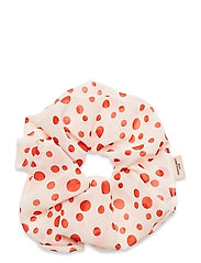 Dotted Scrunchie - RED LOVE