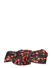 Fruity Knot Hairband - BLACK