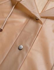Becksöndergaard - Transparent Magpie Raincoat - regnjakker - muted clay - 2