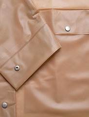 Becksöndergaard - Transparent Magpie Raincoat - regnjakker - muted clay - 3