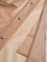 Becksöndergaard - Transparent Magpie Raincoat - regnjakker - muted clay - 4