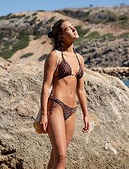 Becksöndergaard - Raspy Bikini Top - bikinitopper - black - 0
