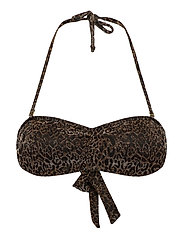 Leoglam Bandeau Bikini - GOLDEN GLOW