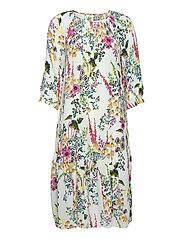 Gardenflo Melody Dress - WHITE