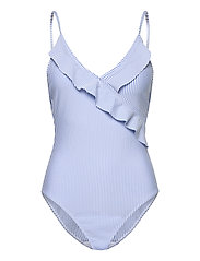 Striba Frill Swimsuit - BLUE