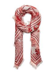 Bluma Colur Scarf - RED LOVE