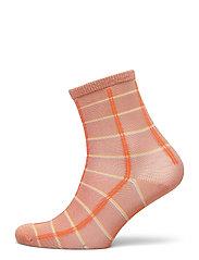 Square Rainbird Sock - MUTED CLAY