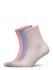 Mix Sock Pack W. 15 - CLAY/BLUE/VIOLETICE