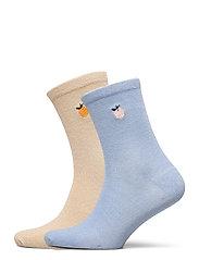 Mix Sock Pack W. 19 - GRAY/BLUE