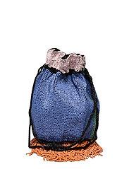 Color Block Tora Bag - MIX COLOUR