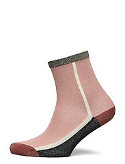 Dean Summerblock Sock - DUSTY PINK