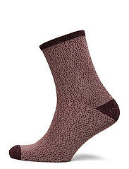 Drop Needle Glow Sock - DUSTY PINK