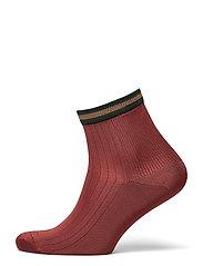 Sporty Reina Sock - BURNT SIENNA