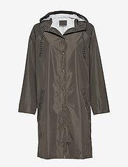 Becksöndergaard - Solid Magpie Raincoat - sadevaatteet - army green - 0