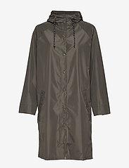 Becksöndergaard - Solid Magpie Raincoat - regntøj - army green - 1