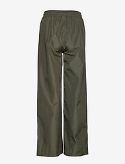 Becksöndergaard - Solid Maggie Rain Pants - pantalons larges - army green - 1
