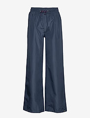 Becksöndergaard - Solid Maggie Rain Pants - vide bukser - navy blue - 0