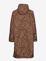 Becksöndergaard - Animal Magpie Raincoat - regnjakker - chocolate brown - 2