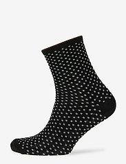 Becksöndergaard - Dina Small Dots - chaussettes - black - 0
