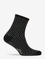 Becksöndergaard - Dina Small Dots - chaussettes - black - 1