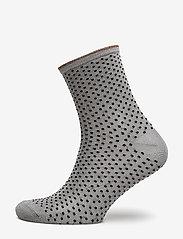 Becksöndergaard - Dina Small Dots - chaussettes - opal gray - 0