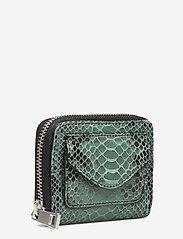 Becksöndergaard - Snake Petit Wallet - portfele - simply green - 2
