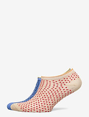 Becksöndergaard - Dollie Dot W. - steps & footies - light blue/red love - 0