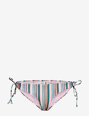 Becksöndergaard - Stria Bikini Bottom - side tie bikinier - green - 0