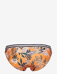 Becksöndergaard - Sylvia Elastic Bikini Bottom - bikinialaosat - orange - 1