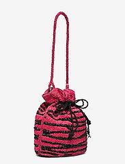 Becksöndergaard - Zebra Tora Bag - bucket bags - chinese red - 2