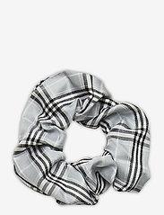 Becksöndergaard - Check Scrunchie Elastic - haar accessoires - light grey - 0