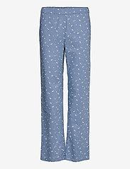 Becksöndergaard - Tiny Flower Pyjamas Set - pyjamas - forever blue - 2