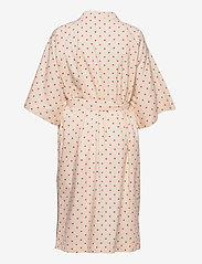 Becksöndergaard - Dot Liberte Kimono - nattøy & loungeklær - sand - 1