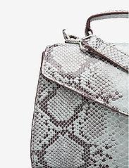 Becksöndergaard - Snake Petit Malery Bag - handväskor - white - 3