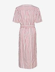 Becksöndergaard - Striped Casey Long - midimekot - fruit pink - 1