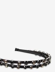 Becksöndergaard - Embellished Marella Hairbrace - haar accessoires - black - 1