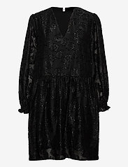 Becksöndergaard - Glitrala Sanna Dress - korte kjoler - black - 0