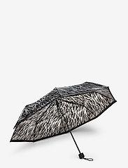 Becksöndergaard - Zestroke Transparent Umbrella - umbrellas - black - 2