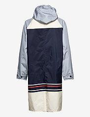 Becksöndergaard - Blockie Magpie Raincoat - sadevaatteet - blue - 3