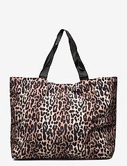 Becksöndergaard - Leolar Foldable Bag - shoppere - beige - 3