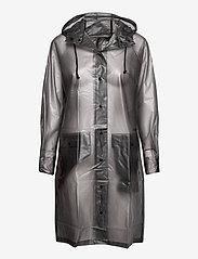 Becksöndergaard - Transparent Magpie Raincoat - sadevaatteet - grey - 1