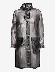 Becksöndergaard - Transparent Magpie Raincoat - sadevaatteet - grey - 3
