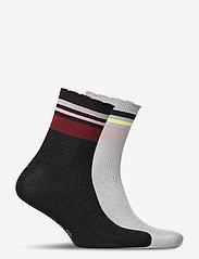 Becksöndergaard - Mix Sock Pack W. 11 - chaussettes - black / qarry - 1