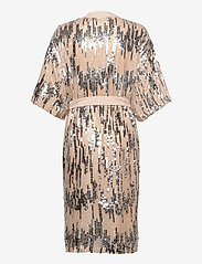 Becksöndergaard - Glitrio Kimono Dress - kimonos - beige - 2
