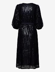 Becksöndergaard - Glitrio Holiday Dress - paljettkjoler - black - 1